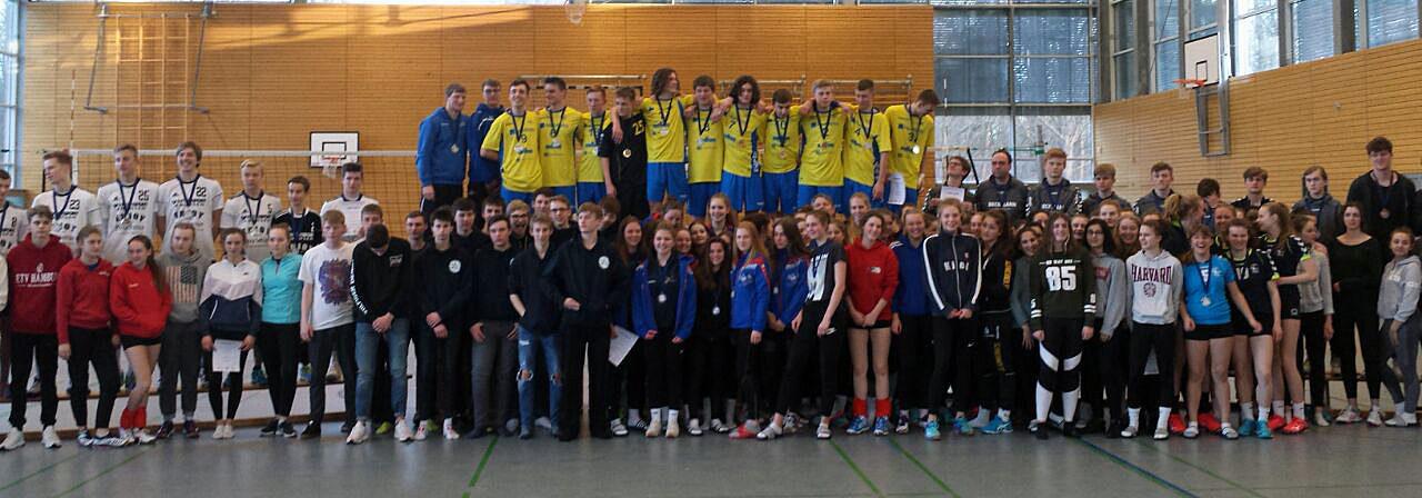 Schweriner Volleyballnachwuchs erfolgreich bei der NDM U18 in Kiel