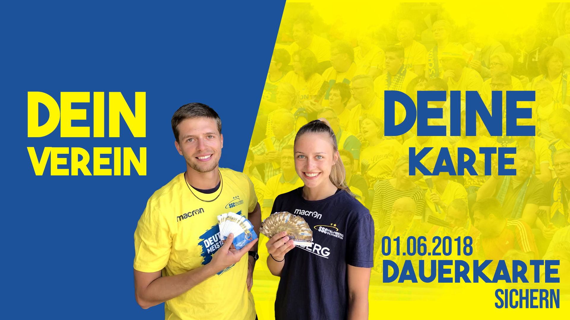 Dauerkarten für 2018/19 bald am Start!