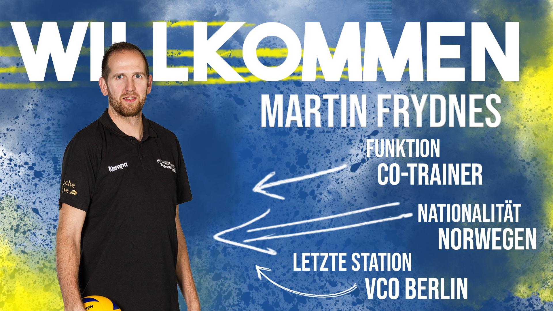 Martin Frydnes verstärkt die SSC-Trainerbank