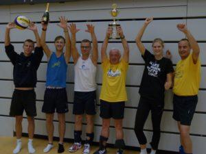 Volleyball-Benefiz fürs Hospiz