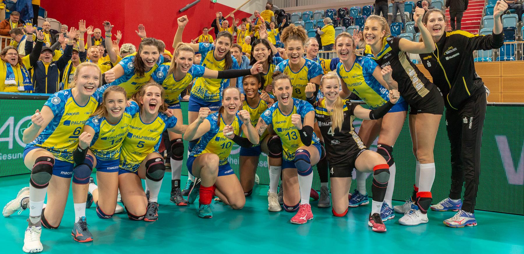 Letzte Chance auf Fanfahrt zum Volleyball-Pokalfinale