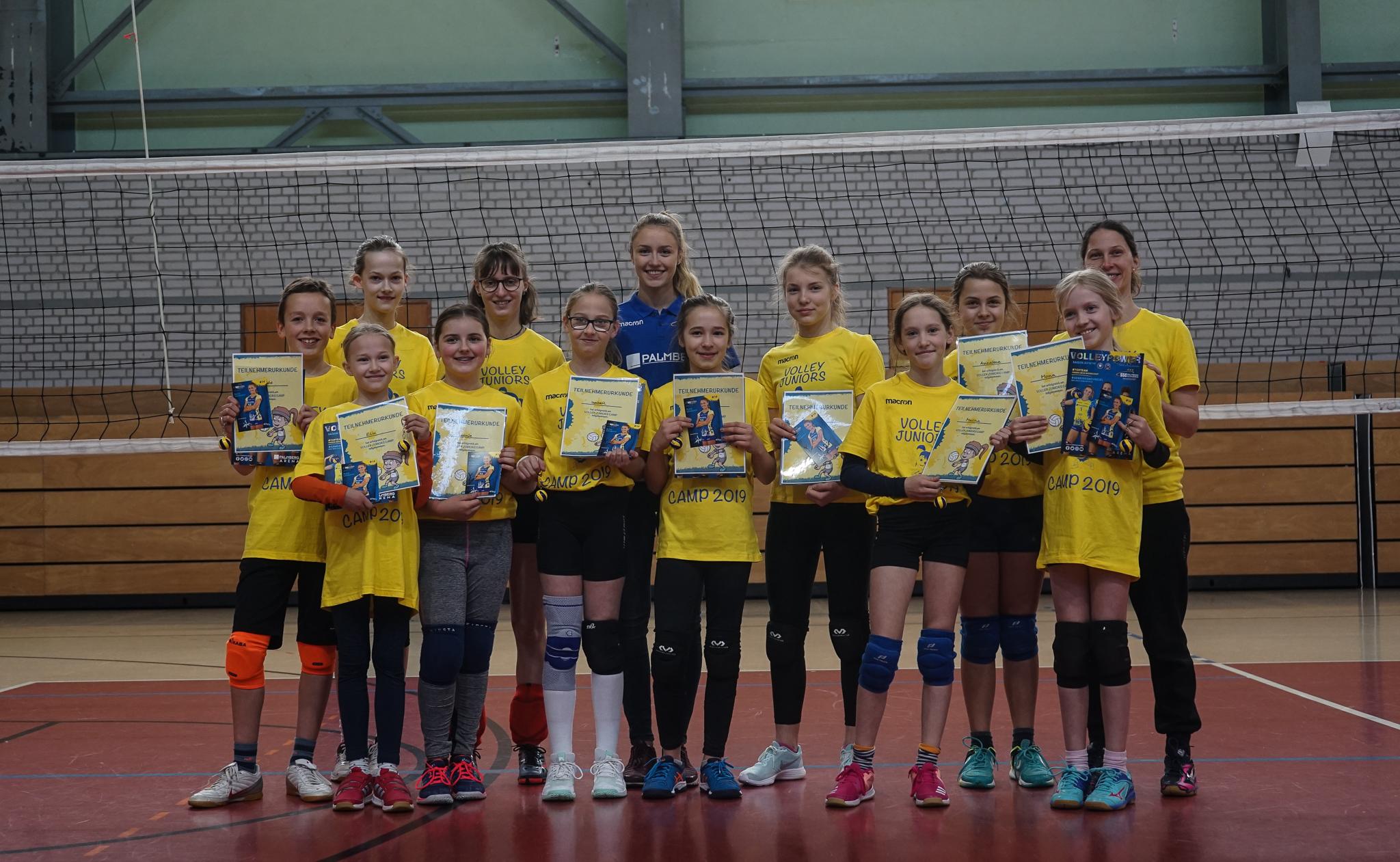 1. Volley Juniors Camp ist Geschichte