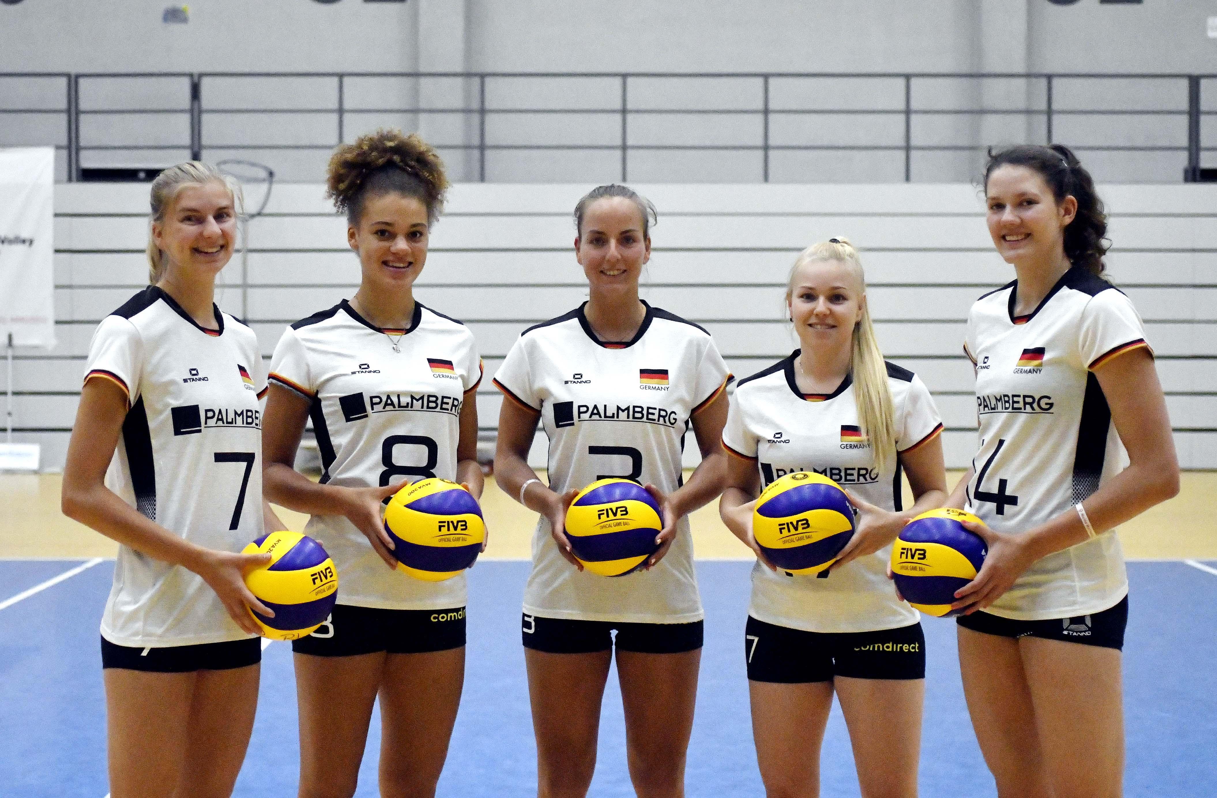 Volleyball-Nationalspielerinnen machen sich für EM fit