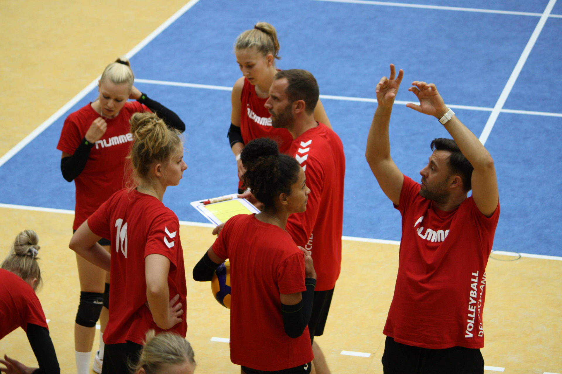 Training in der PALMBERG ARENA Foto SSC