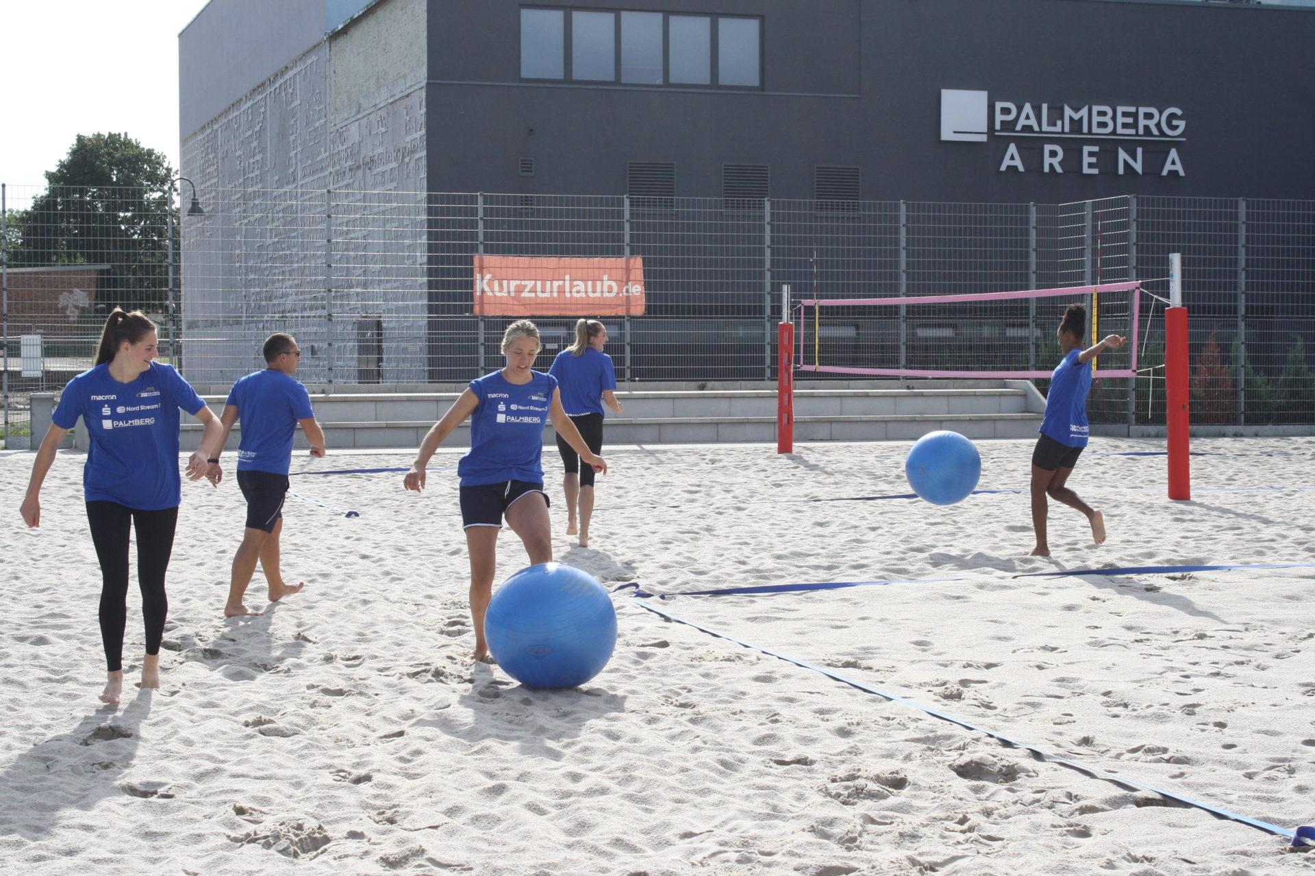 Trainingsauftakt in Schwerin Foto SSC