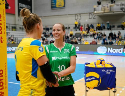 Volleyballfest für Denise Hanke